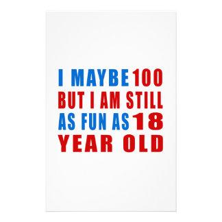 I quizá 100 diseños del cumpleaños papelería de diseño