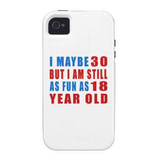 I quizá 30 diseños del cumpleaños Case-Mate iPhone 4 funda