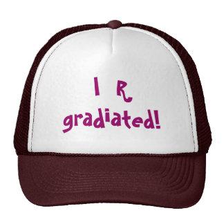 ¡I R gradiated! - gorra