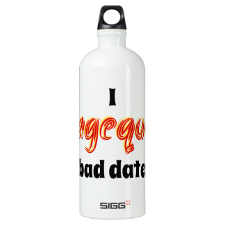 I Ragequit Bad Dates Aluminum Water Bottle