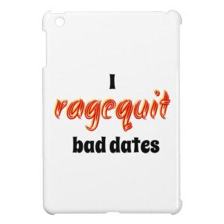I Ragequit Bad Dates iPad Mini Cases