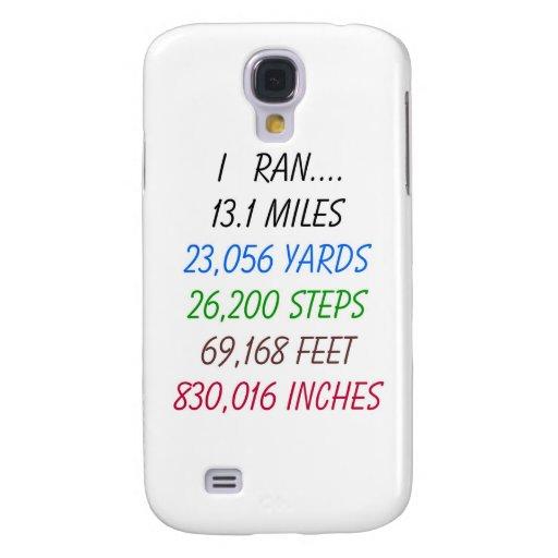 I Ran 13.1 Miles Galaxy S4 Covers