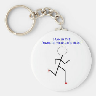 I ran in the... keychain