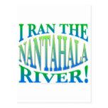 I Ran the Nantahala River Postcard