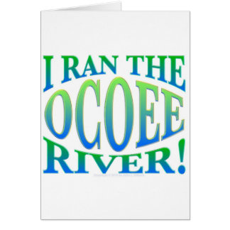 I Ran the Ocoee River Card