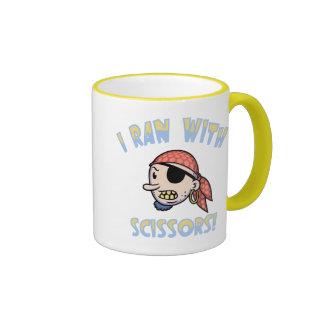 I Ran With Scissors Coffee Mug