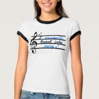 I randomly burst into song. t-shirts