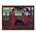 I Raro Te Oviri de Gauguin Paul (la mejor calidad) Postal