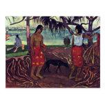 I Raro Te Oviri de Gauguin Paul (la mejor calidad) Tarjetas Postales