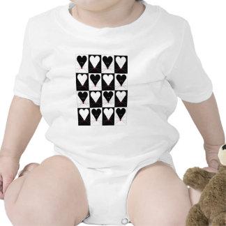 I ratones del corazón trajes de bebé