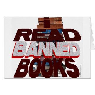 I READ BANNED BOOKS CARD