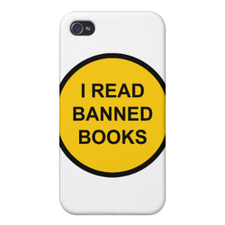 I Read Banned Books iPhone 4/4S Cover
