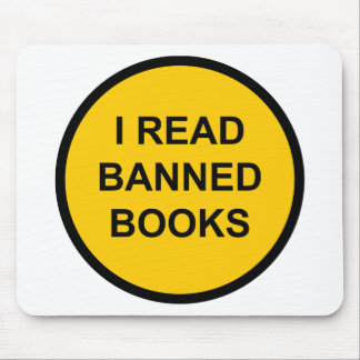 I Read Banned Books Mouse Pad