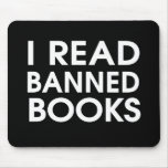 I Read Banned Books Mousepads