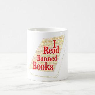 I Read Banned Books Mug