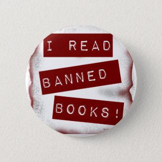 I read banned books! pinback button