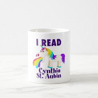 I Read Cynthia St. Aubin Mug