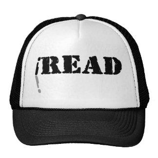 I Read Mesh Hat