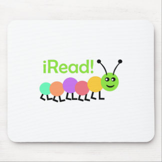 I READ MOUSE PAD