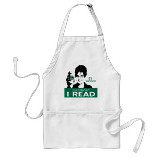 I Read Papers Apron