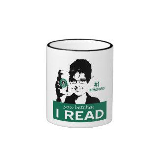 I Read Papers Mug