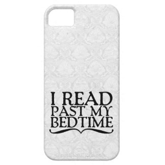 I Read Past My Bedtime iPhone 5 Cases