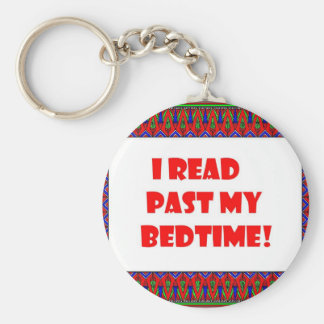 I read past my bedtime.jpg keychain