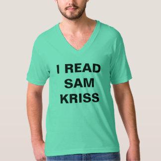 I Read Sam Kriss T-shirt