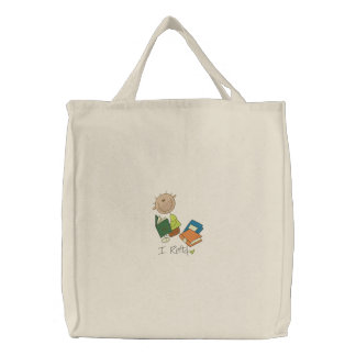I Read - Tote Canvas Bags