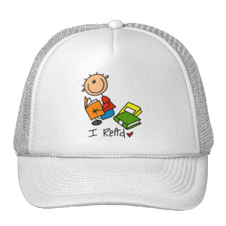 I Read Tshirts and Gifts Trucker Hat
