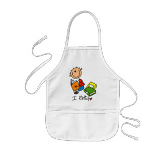 I Read Tshirts and Gifts Kids' Apron