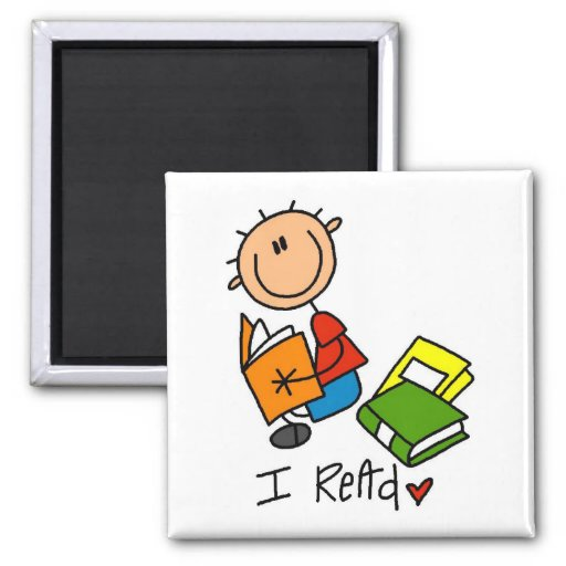 I Read Tshirts and Gifts Magnet