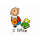 I Read Tshirts and Gifts Postcard