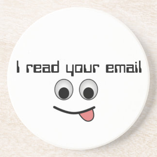 I read your email Coaster