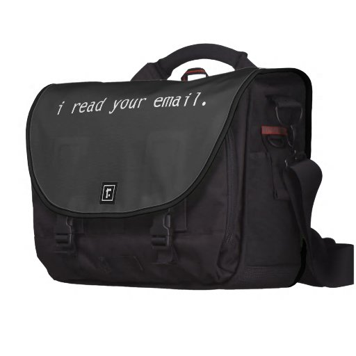 I Read Your Email Hacker Laptop Bag