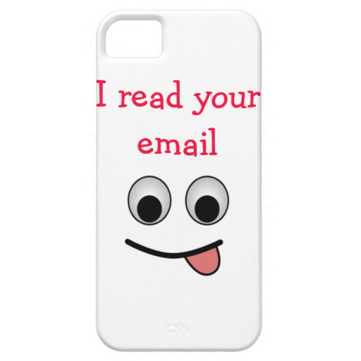 I read your email iPhone 5 Case-Mate Case