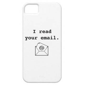 I Read Your Email. iPhone SE/5/5s Case