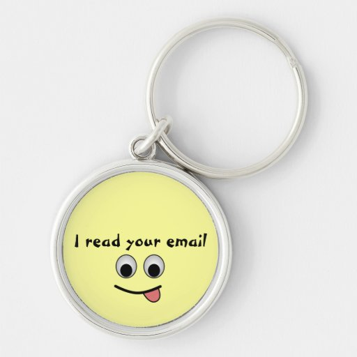 I read your email Keychain