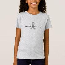 I Really Hate Cancer | Custom Ribbon Color T-Shirt