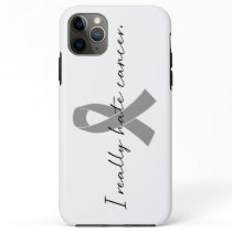 I Really Hate Cancer | Survivor | Any Color Ribbon iPhone 11 Pro Max Case