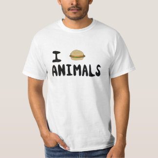 I Really Love Animals T-Shirt