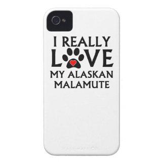 I Really Love My Alaskan Malamute iPhone 4 Cover
