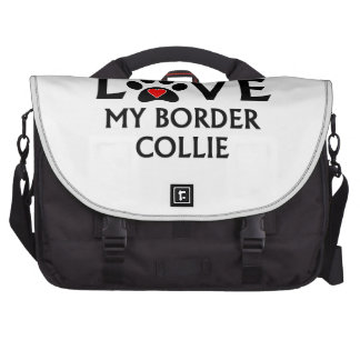 I Really Love My Border Collie Commuter Bags