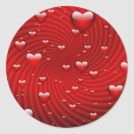 I Really Love You Classic Round Sticker