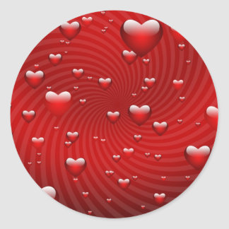 I Really Love You Round Stickers