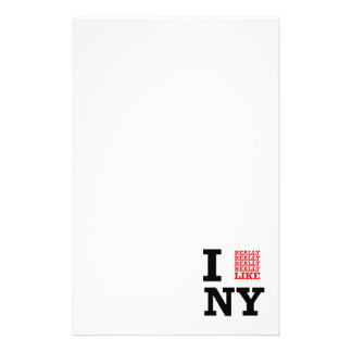 I Really Really Really Like NY Stationery
