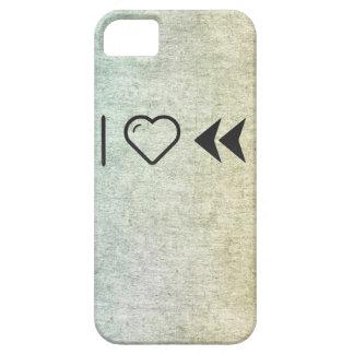 I rebobinados dobles del corazón iPhone 5 carcasa