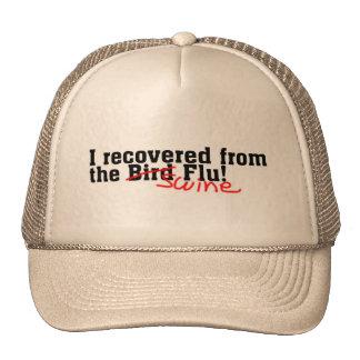 I Recovered from the Bird no Swine Flu Trucker Hat