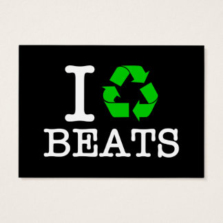 I Recycle Beats Business Card