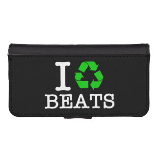 I Recycle Beats iPhone SE/5/5s Wallet Case